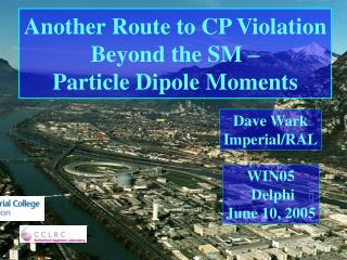 Another Route to CP Violation Beyond the SM – Particle Dipole Moments