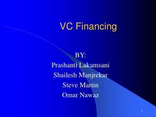 VC Financing