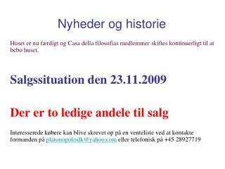 Nyheder og historie