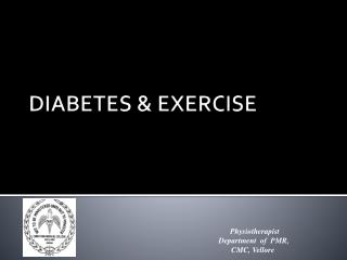 DIABETES & EXERCISE