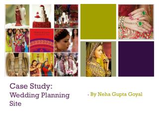 Case Study:  Wedding Planning Site