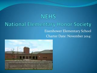NEHS  National Elementary Honor Society