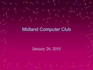 Midland Computer Club