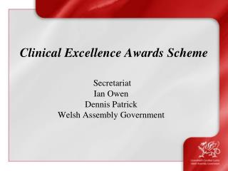 Clinical Excellence Awards Scheme