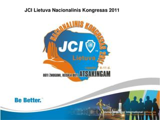 JCI Lietuva Nacionalinis Kongresas 2011
