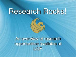 Research Rocks!