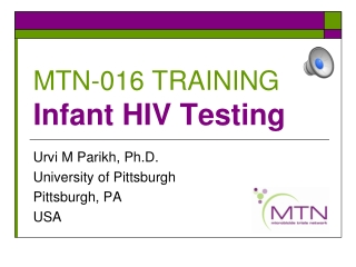Module 2:  HIV Counseling and Testing for PMTCT