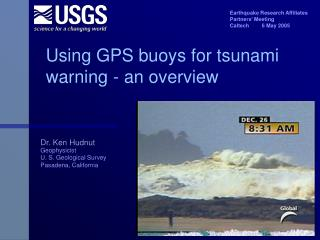 Using GPS buoys for tsunami warning - an overview