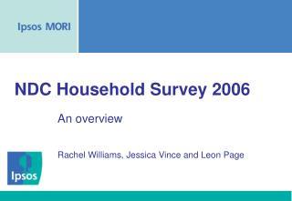 NDC Household Survey 2006