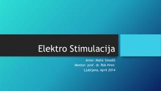 Elektro Stimulacija