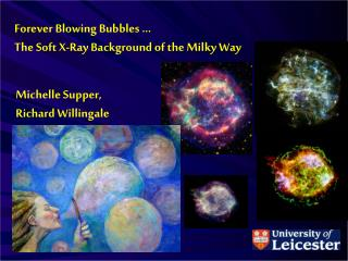 Forever Blowing Bubbles … The Soft X-Ray Background of the Milky Way