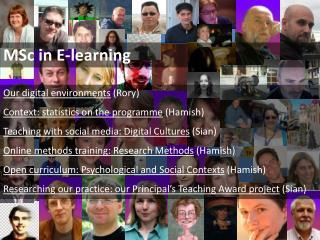 MSc in E-learning