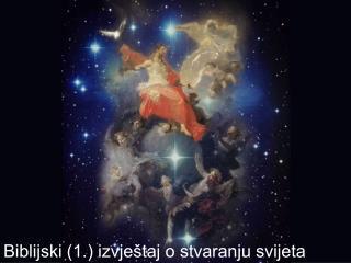 Biblijski (1.) izvještaj o stvaranju svijeta