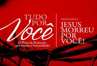 """""""Nisto conhecemos o que é o amor: Jesus Cristo deu a sua vida por nós"""" 1 Jo 3.16"""