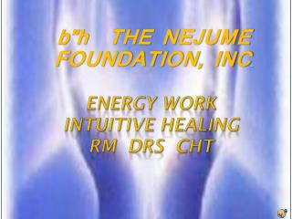 Energy work intuitive healing rm drs cht