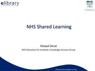 NHS Shared Learning