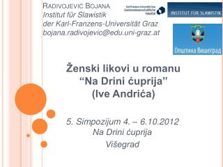 """Ženski likovi u romanu  """"Na Drini ćuprija""""  (Ive Andrića)"""