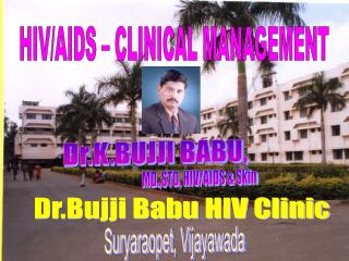 HIV/AIDS � CLINICAL MANAGEMENT