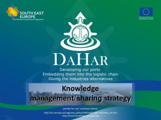 Knowledge management / sharing  strategy