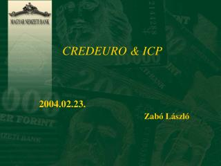 CREDEURO & ICP