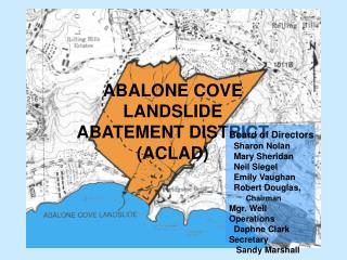 ABALONE COVE LANDSLIDE  ABATEMENT DISTRICT (ACLAD)
