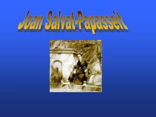 Joan Salvat-Papasseit