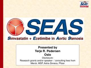 Presented by Terje R. Pedersen Oslo Disclosure:
