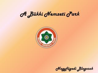 A Bükki Nemzeti Park