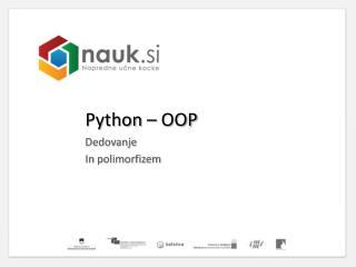 Python  – OOP