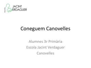 Coneguem Canovelles