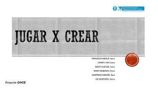 JUGAR X CREAR