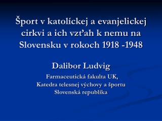Štatistika náboženstiev na Slovensku v r. 1921