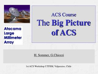 ACS Course The  Big Picture  of ACS