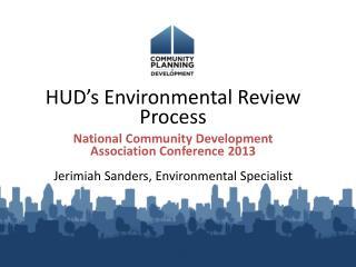 HUD's Environmental Review Process