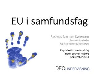 EU i samfundsfag