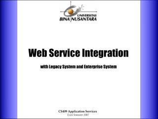 Web Service Integration