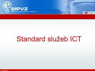 Standard služeb ICT
