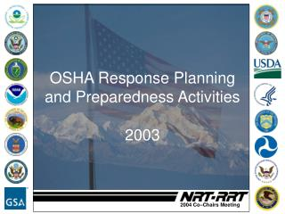 OSHA Response Planning and Preparedness Activities  2003