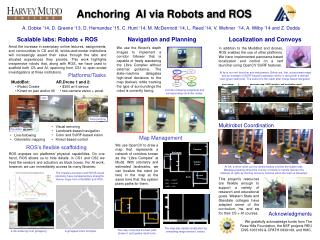 Anchoring  AI via Robots and ROS