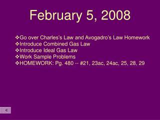 February 5, 2008