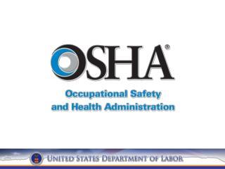 Recent OSHA News