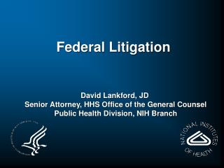 Federal Litigation