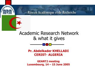 Academic Research Network & what it gives