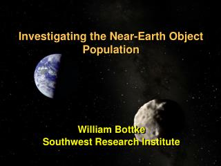 Investigating the Near-Earth Object Population