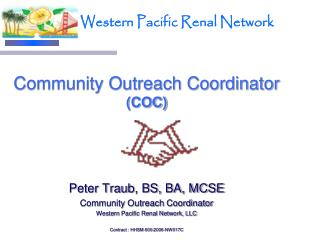 Community Outreach Coordinator  (COC)