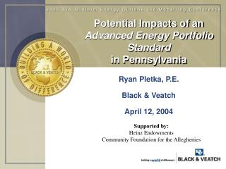 Potential Impacts of an Advanced Energy Portfolio Standard in Pennsylvania