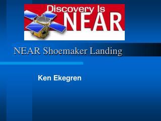NEAR Shoemaker Landing