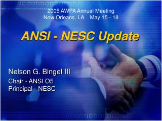 ANSI - NESC Update