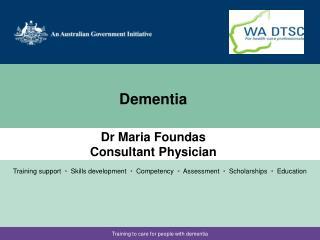 Dr Maria Foundas Consultant Physician