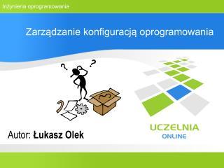 Zarządzanie konfiguracją oprogramowania